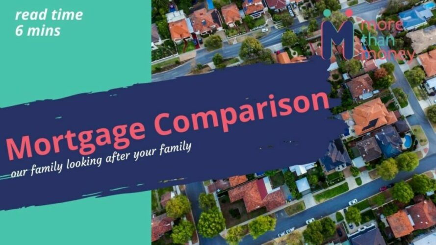 mortgage comparison with More Than Money