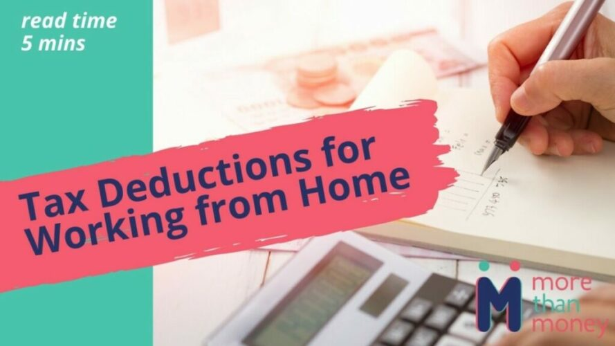 Tax Deductions for Working from Home, More than Money