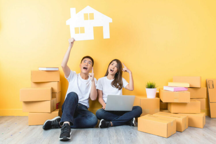 Young people moving their mortgage to a new house?